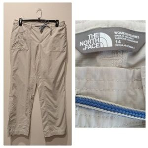The North Face Light Khaki Convertible Pants